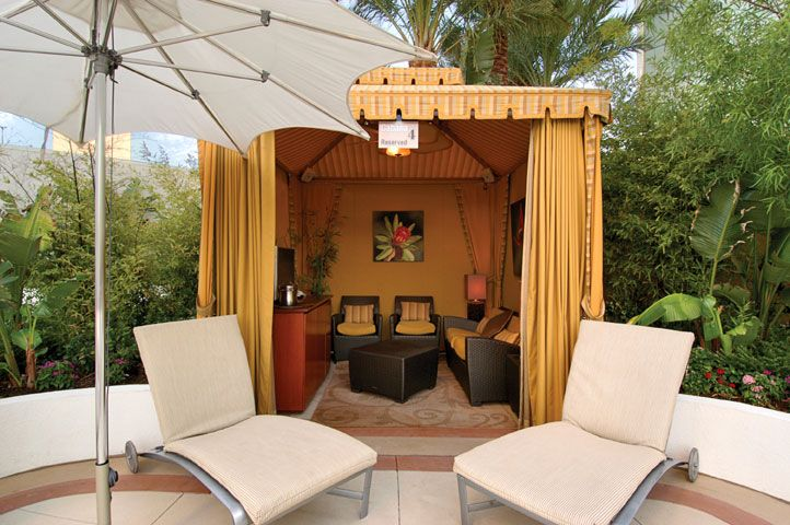 Images of cabanas las vegas cool pools outdoor living for Outdoor pool cabana