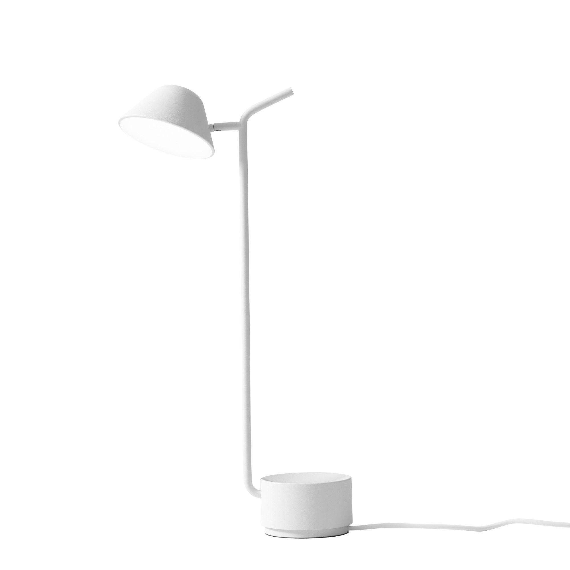 Lampe De Table Peek Blanc Menu Lampes De Table Blanc Et Lumiere De Lampe