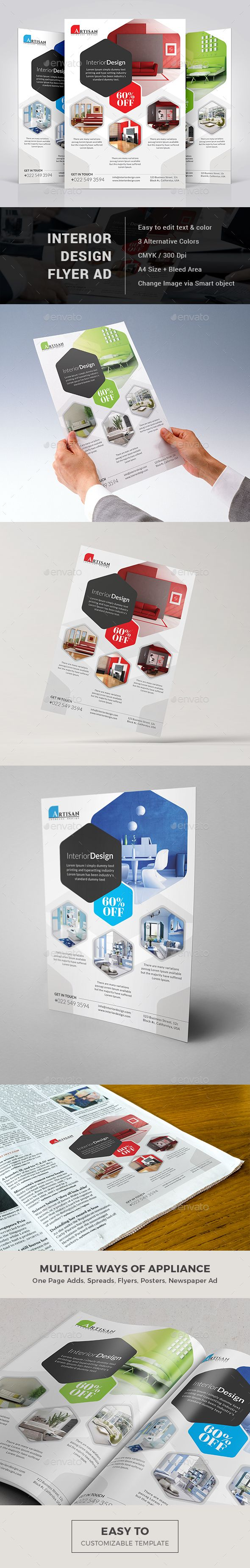 Interior Design Flyer Template Psd Download Here Http