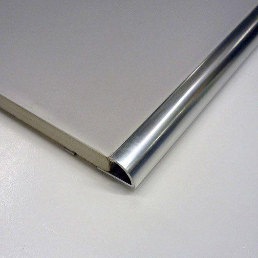 Quart De Rond Carrelage Mur Aluminium Anodisé L25 M X Ep