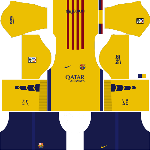 Dream League Soccer Kits Barcelona 2015/2016 with Logo URL
