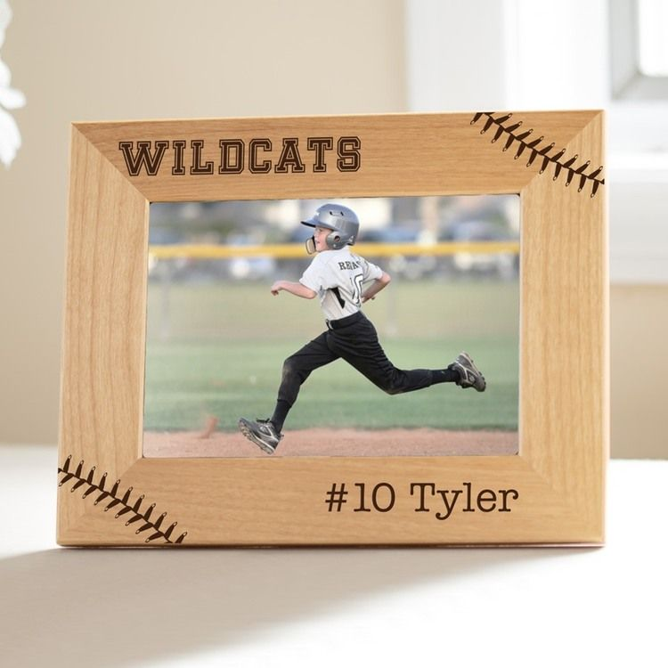 Personalized Baseball / Softball Picture Frame