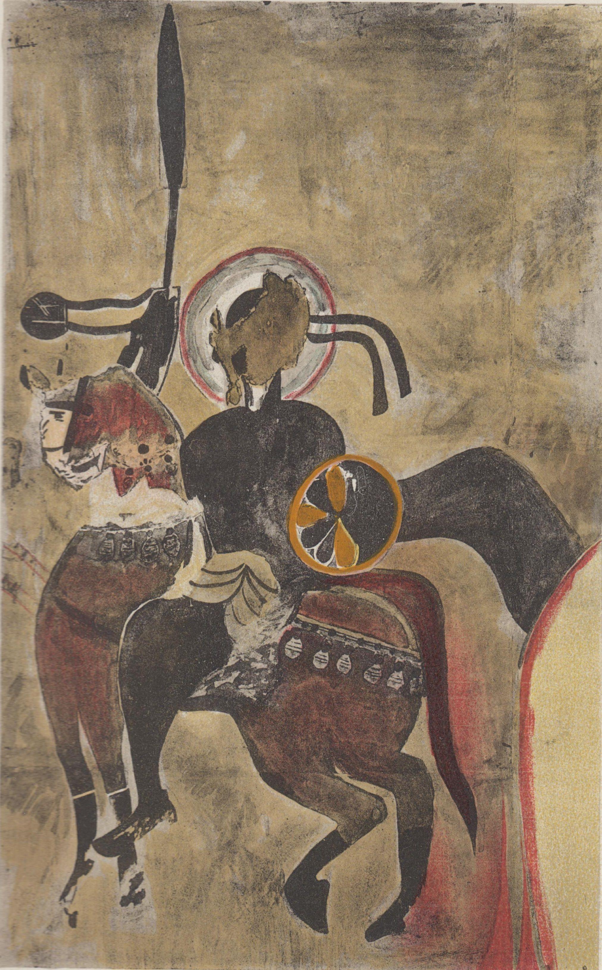 Warrior saint, Abd el-Qadir (13th century)