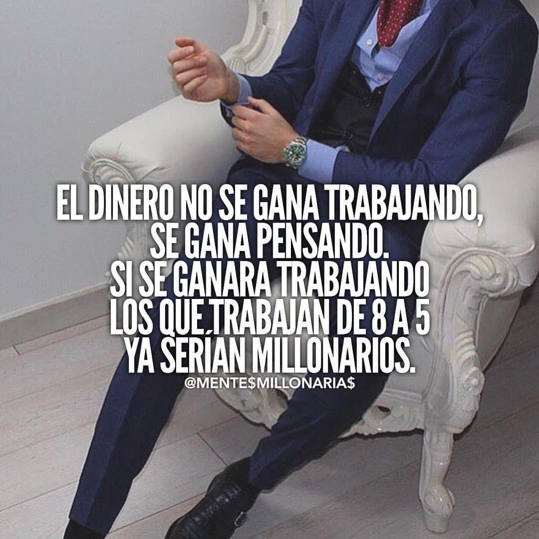 Ganar Dinero Con Clickbank Trabajosdesdecasa Millionaire Quotes Inspirational Quotes Words
