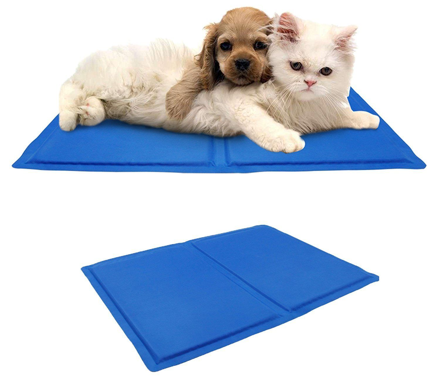 Supercope Pets Large Self Cooling Mat Cold Pad For Cats And Dogs Best For Keeping Pets Cool Perfect For Travel Floor Couch Ca Pets Pet Cooling Mat Pet Bed
