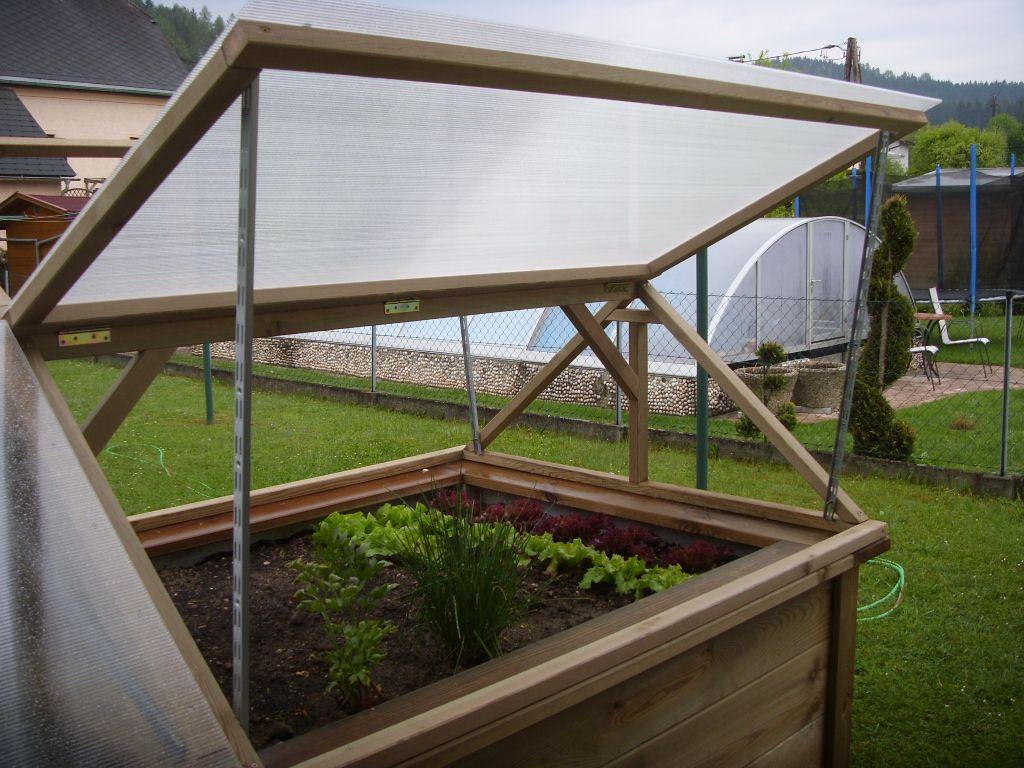 Hochbeetuberdachung Rahmen Aus Kesseldruckimpragniertem Holz Doppelstegplatten Hochbeet Garten Hochbeet Gartenbeet