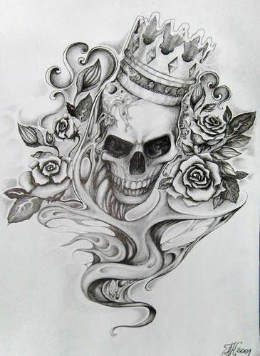 Pin On Skulls And Bones Art