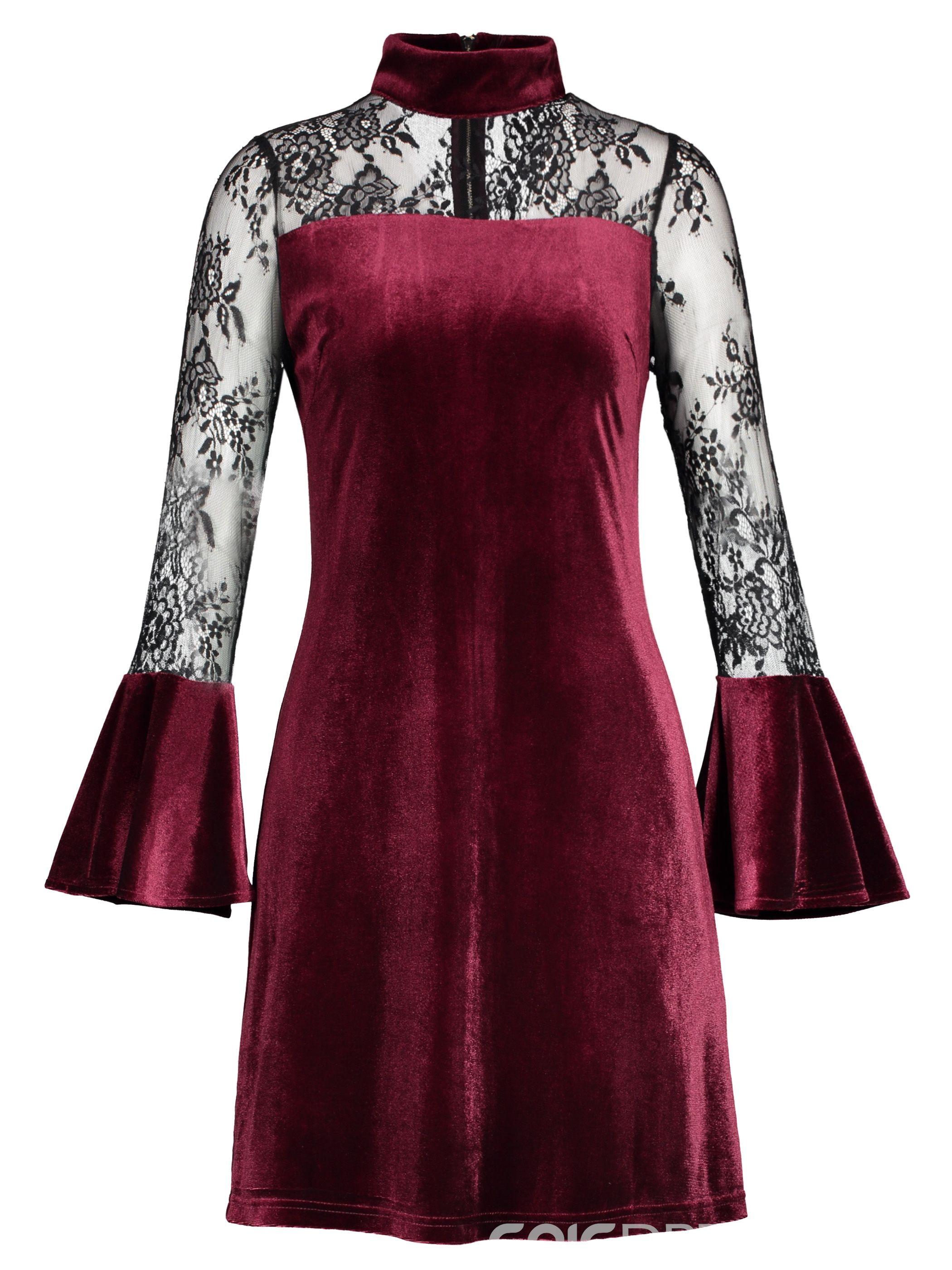 6e2b7efda04 Rosetic Gothic Skater Dress Lace Mesh Girl Summer Party Travel Fashion Slim  Sexy Bella Morte Maiden ...