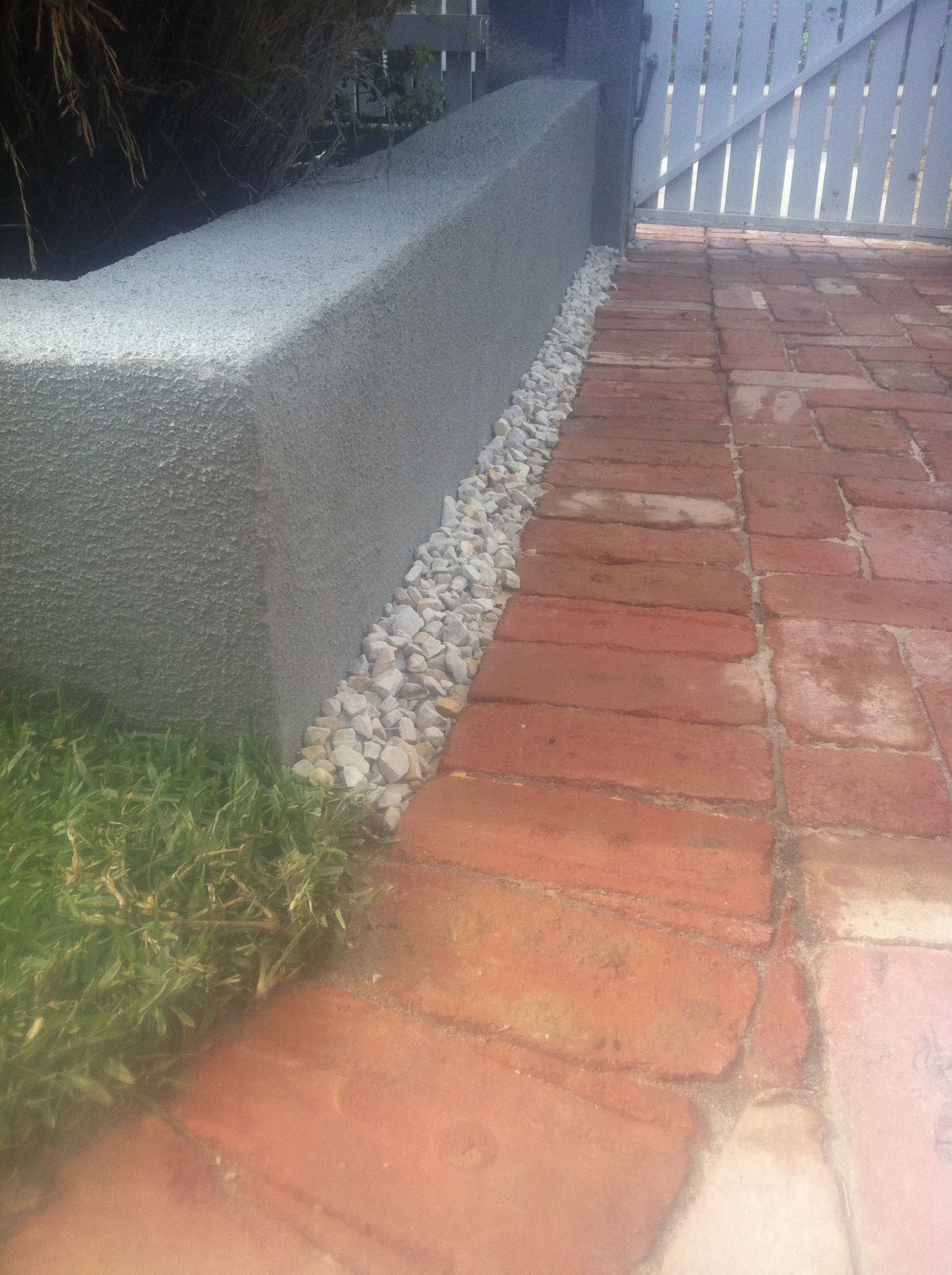 Recycled Red Brick Paving