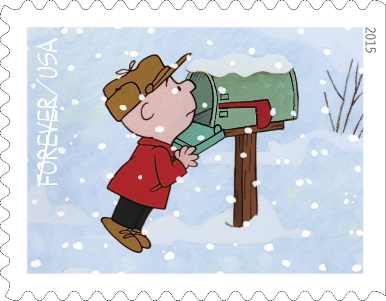 A Charlie Brown Christmas Stamp 6