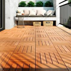 suelos de exterior de madera de Leroy Merlin