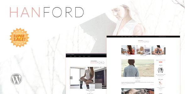 Hanford - Personal and Clean WordPress Blog Theme - Personal Blog / Magazine