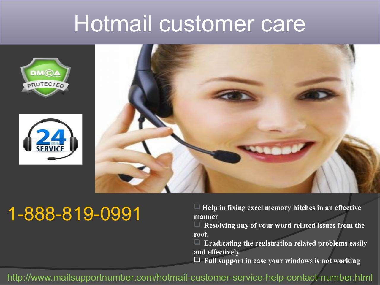 How to get quality Hotmail Customer Care 18888190991