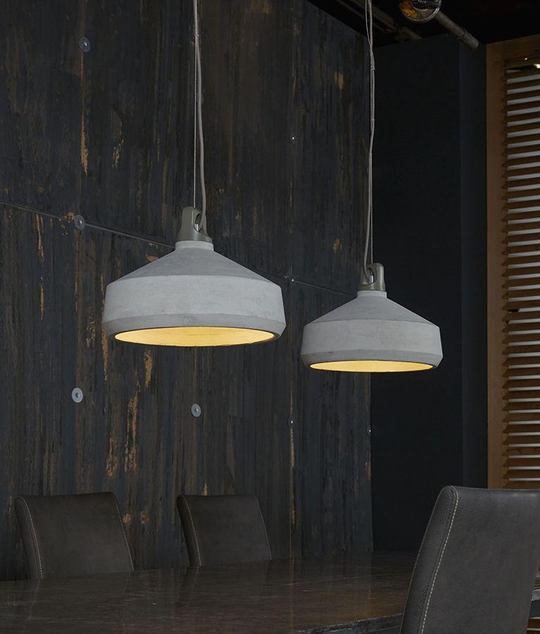 suspension b ton gris moderne ship allume la lumi re pinterest luminaires modernes. Black Bedroom Furniture Sets. Home Design Ideas