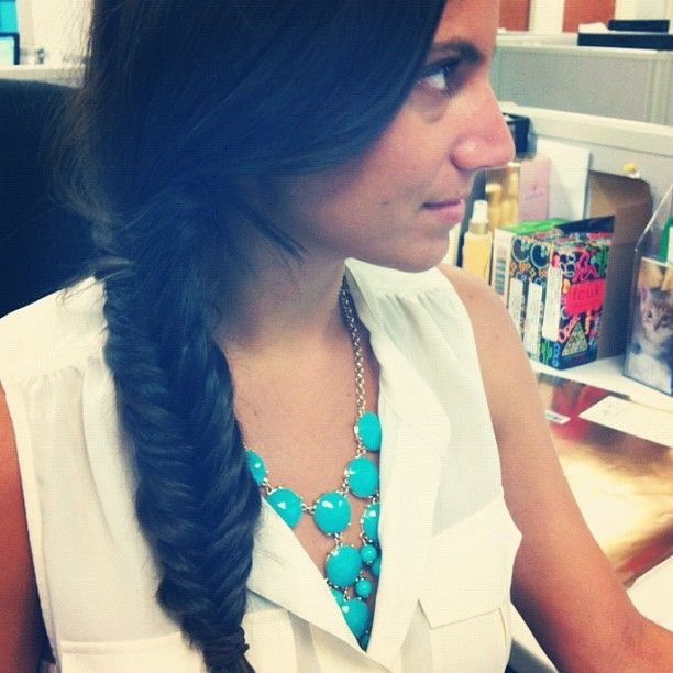 Fun in the Oscar Blandi office! #summerfriday #braids