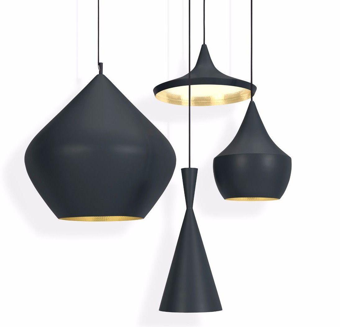 Tom Dixon Beat Stout Pendant Lamp Black Hanglamp Lampen Tom Dixon