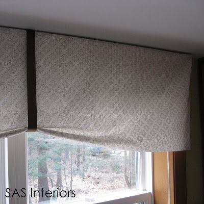 Diy kitchen window valance decorating pinterest kitchen diy kitchen window valance solutioingenieria Images