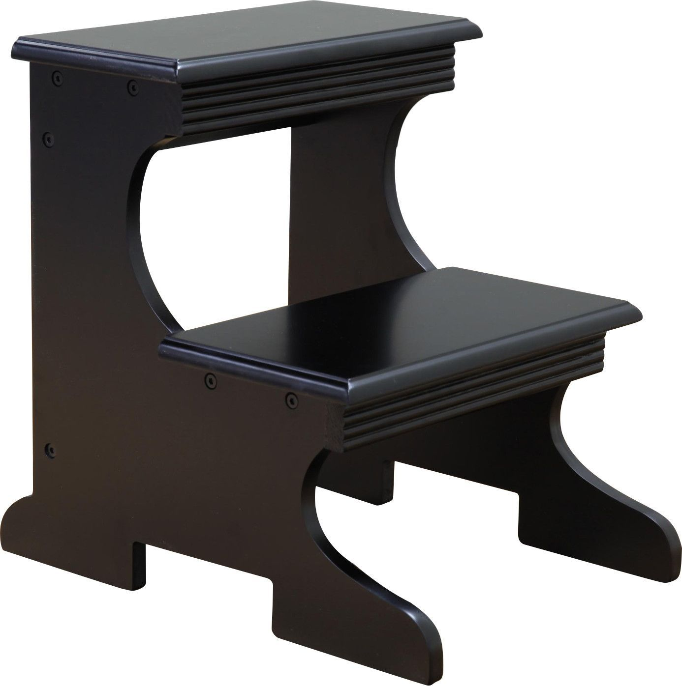 Fabulous 2 Step Wood Step Stool Products Stool Wooden Steps Machost Co Dining Chair Design Ideas Machostcouk
