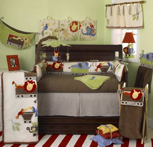 Animal Tracks by Cotton Tale Designs - 8 Piece Crib Set (SPECIAL!)