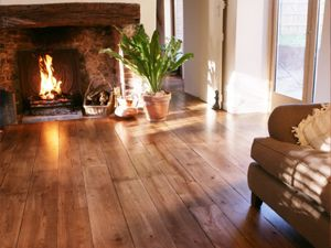 solid wood flooring installed in your home