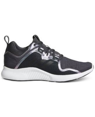 dfd81a6b789d0 adidas Women s Edge Bounce Running Sneakers from Finish Line - Gray ...
