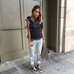 Julie Sariñana, 10 looks de la semana