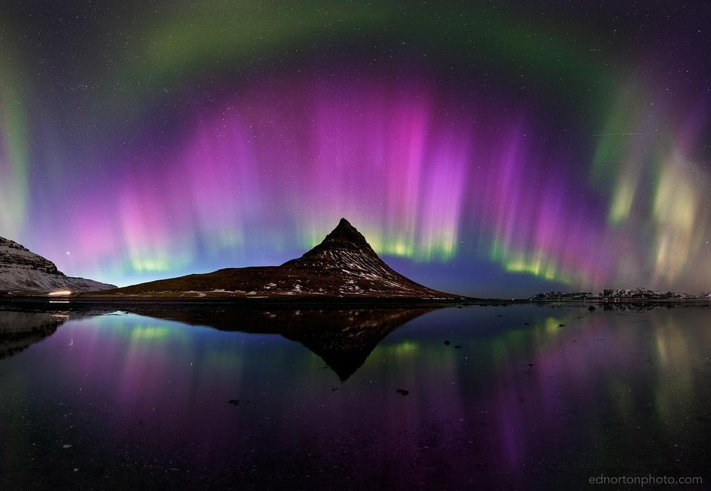 "stunning ""@ednortonphoto: First image processed from the insane #aurora display last night!  """