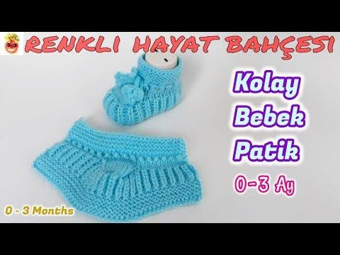Photo of Easy Baby Booties Model – Knitting Lessons