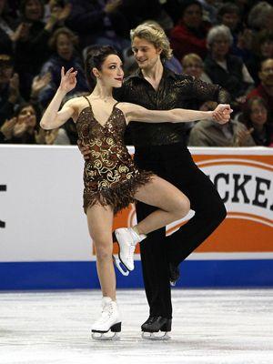 2012 U.S. champions Meryl Davis and Charlie White