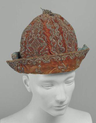Man's cap French, 18th century