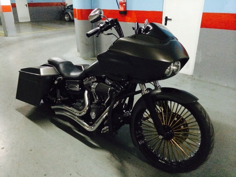 dyna bagger conversion - Google Search | Harley | Harley davidson
