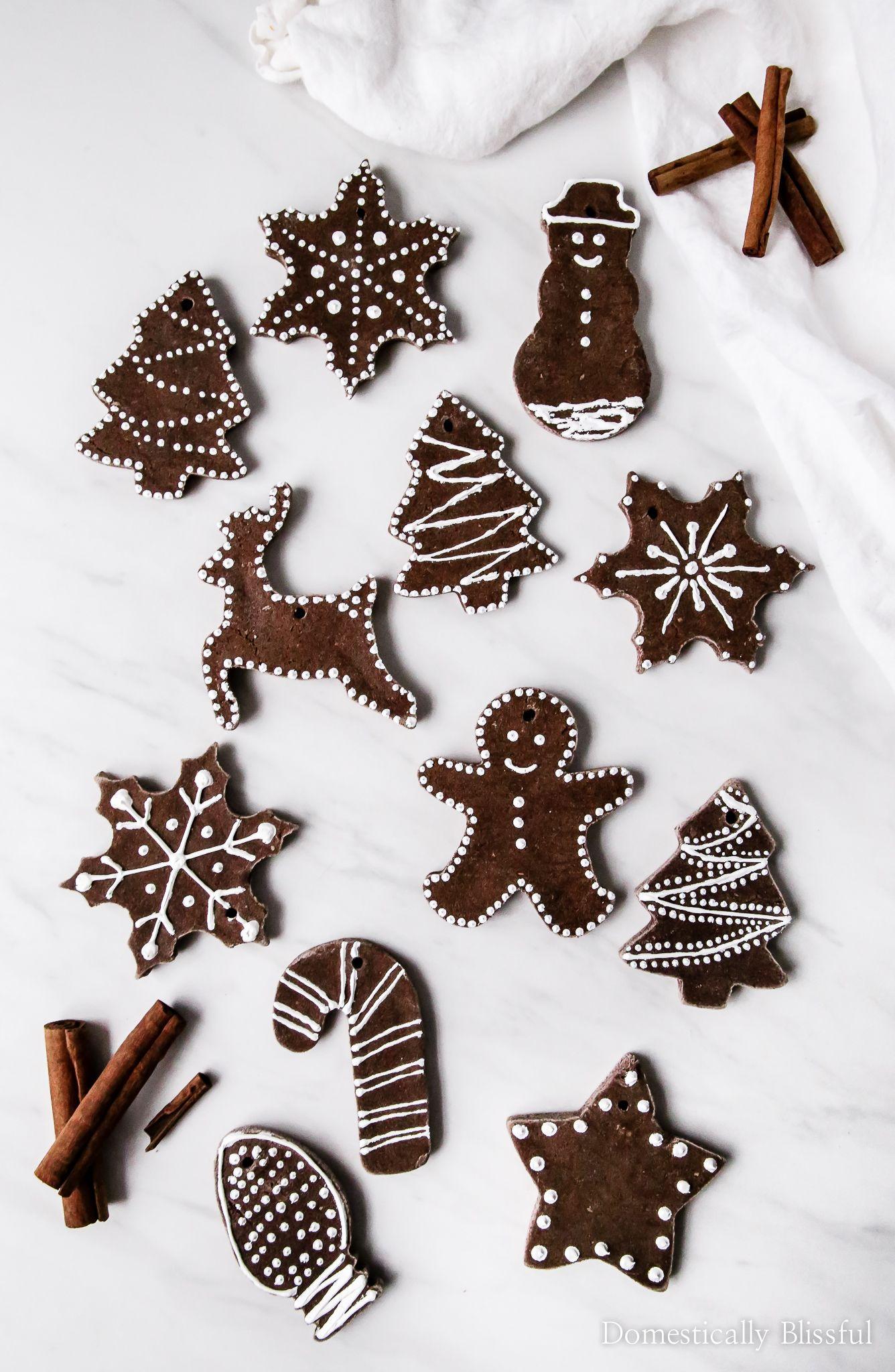 DIY Cinnamon Salt Dough Ornaments
