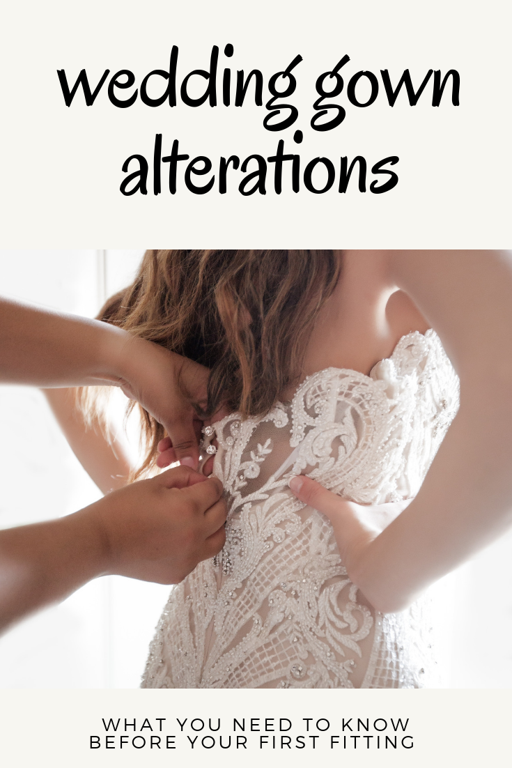 Your First Bridal Gown Fitting Are You Ready Part 1 Of A 4 Part Alterations Series Epiphany Bridal Gown Fitting Wedding Gown Alterations Wedding Dress Patterns