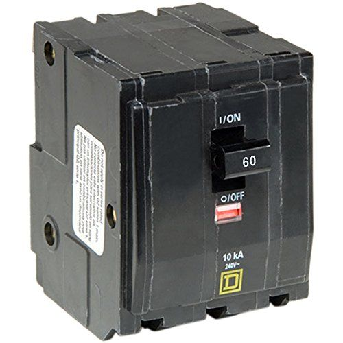 Square D By Schneider Electric Qo360cp Qo 60 Amp Three Pole Circuit Breaker Breakers Circuit Electrical Breakers