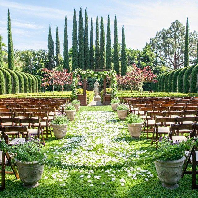 Yesterday's ceremony was what dreams are made of.  #agoodaffairdesign #mattandkiko @kikoseco  @allisonmaginn BRAVO!  Team: @littlehilldesigns @foundrentals @24carrotscatering @expressionaryproductions @scmusicdotcom @steveburdick @classic_orangecounty @darlamariedesigns #agoodaffairweddings #privateestatewedding #gardenwedding