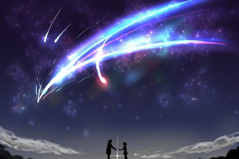 Kimi No Na Wa Wallpaper 2400x1824 For 4k Monitor Kimi No Na Wa Wallpaper Your Name Anime Name Wallpaper