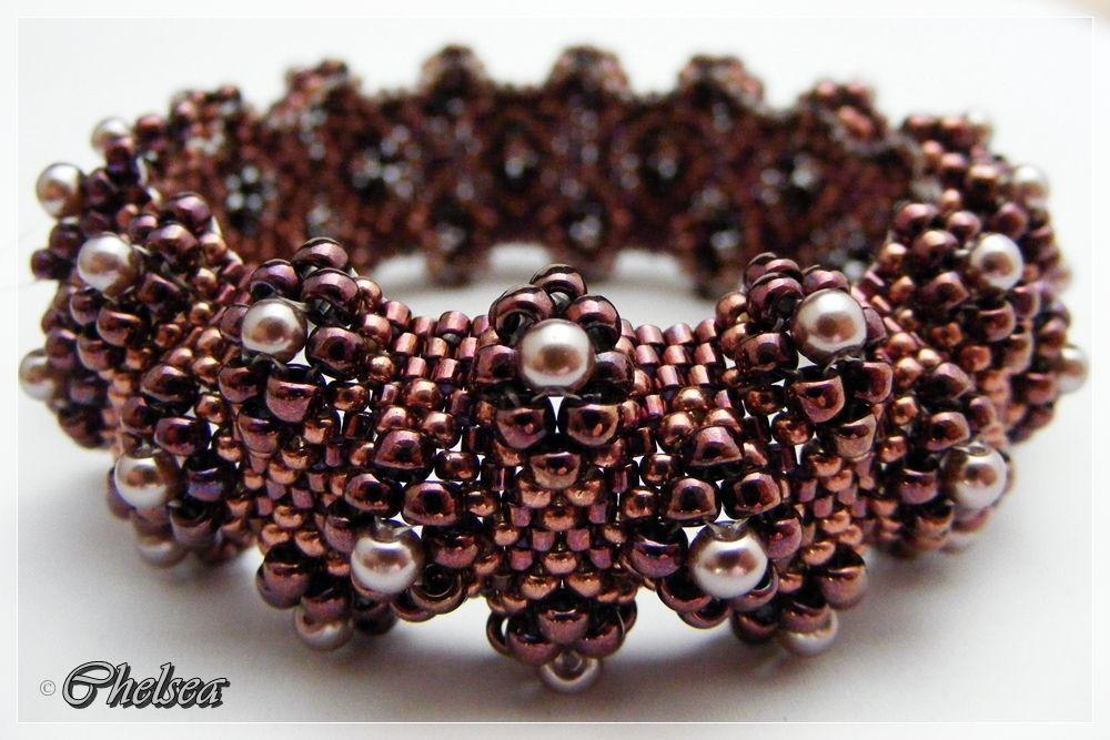 Chelseaspearls nachfolger projects to try schmuck basteln armband perlenkunst - Perlenarmband basteln ...