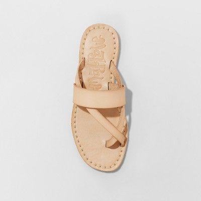 cf5958741f4 Women s Mad Love Kaden Monochromatic Flip Flop Sandals - Tan 11 in ...