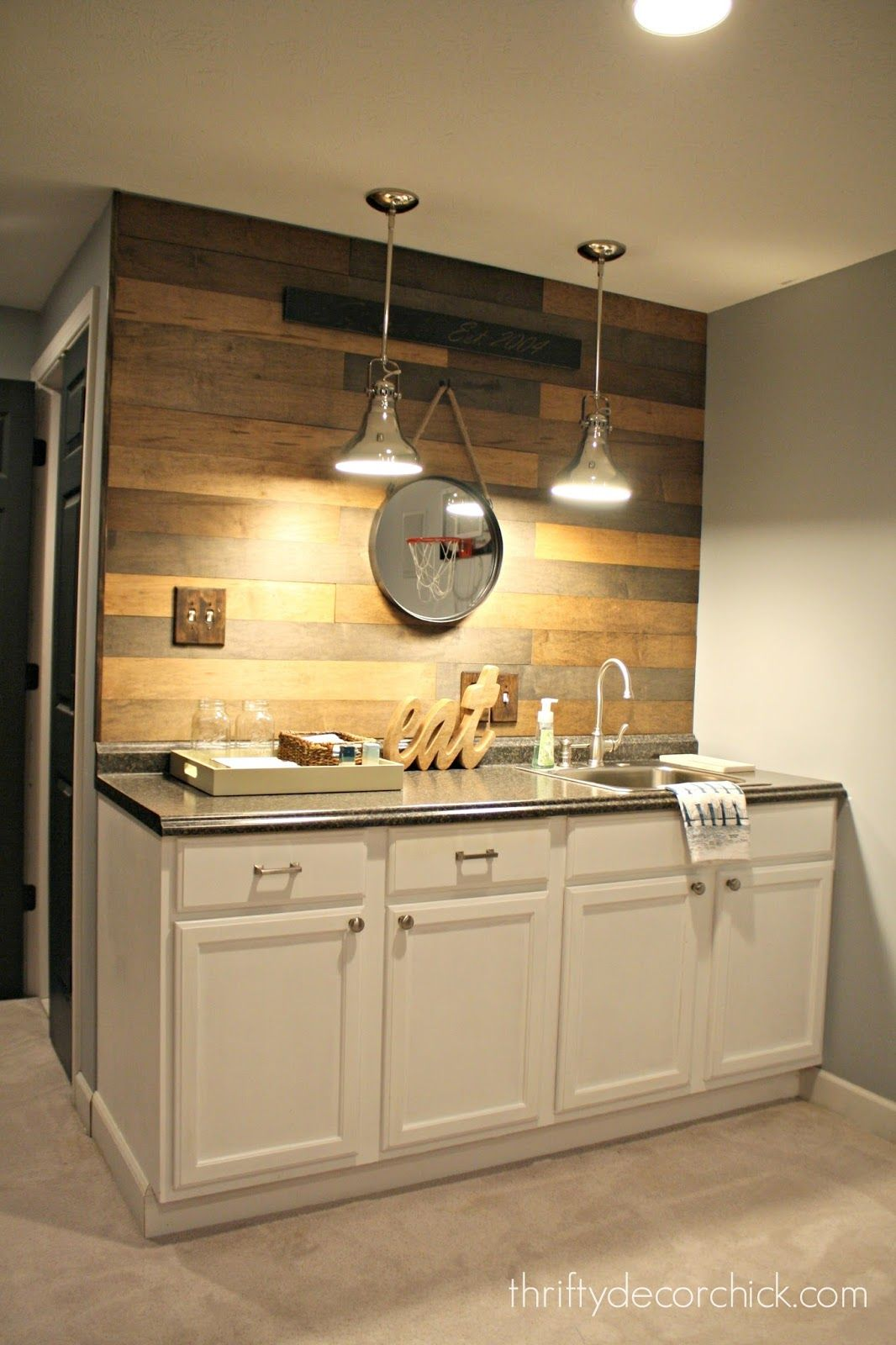 New Basement Kitchen Designs