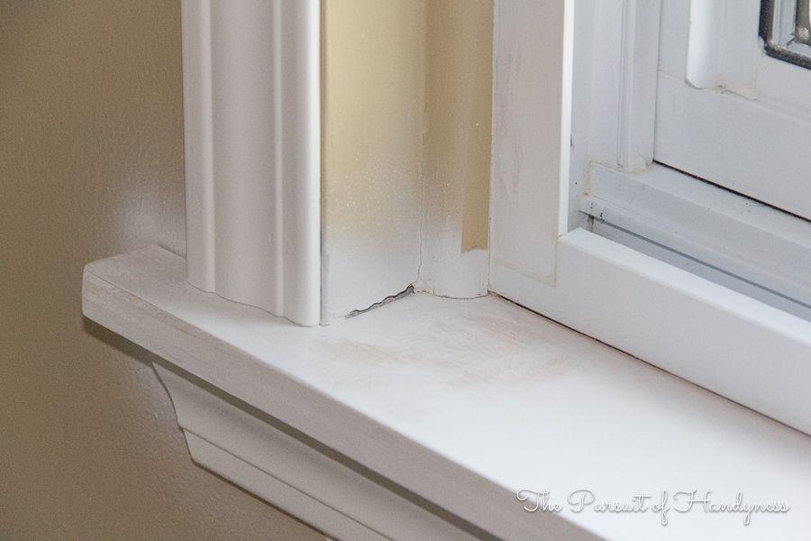 New Window Sill Window Trim Wood Window Sill Window Sill Trim Interior Window Trim