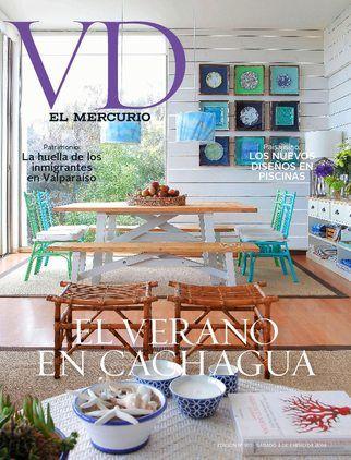 El Mercurio - Revista VD CASA EN LA PLAYA Pinterest Mercurio