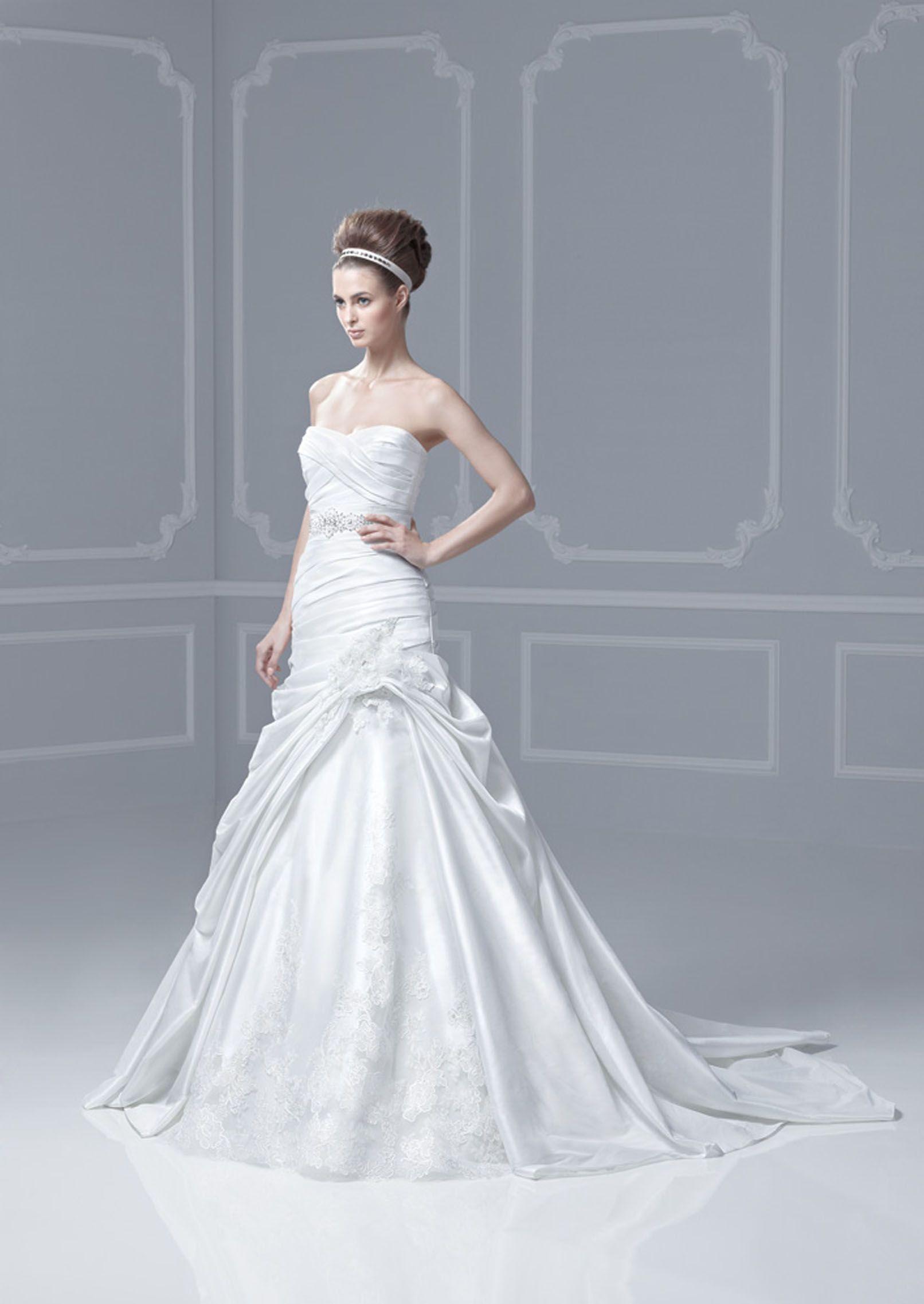 Enzoani Blue Wedding Pinterest Wedding