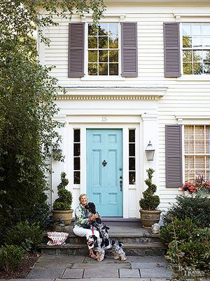 How To Choose A Front Door Color Paint Colors Red Front Doors - Choose the best color for your front door