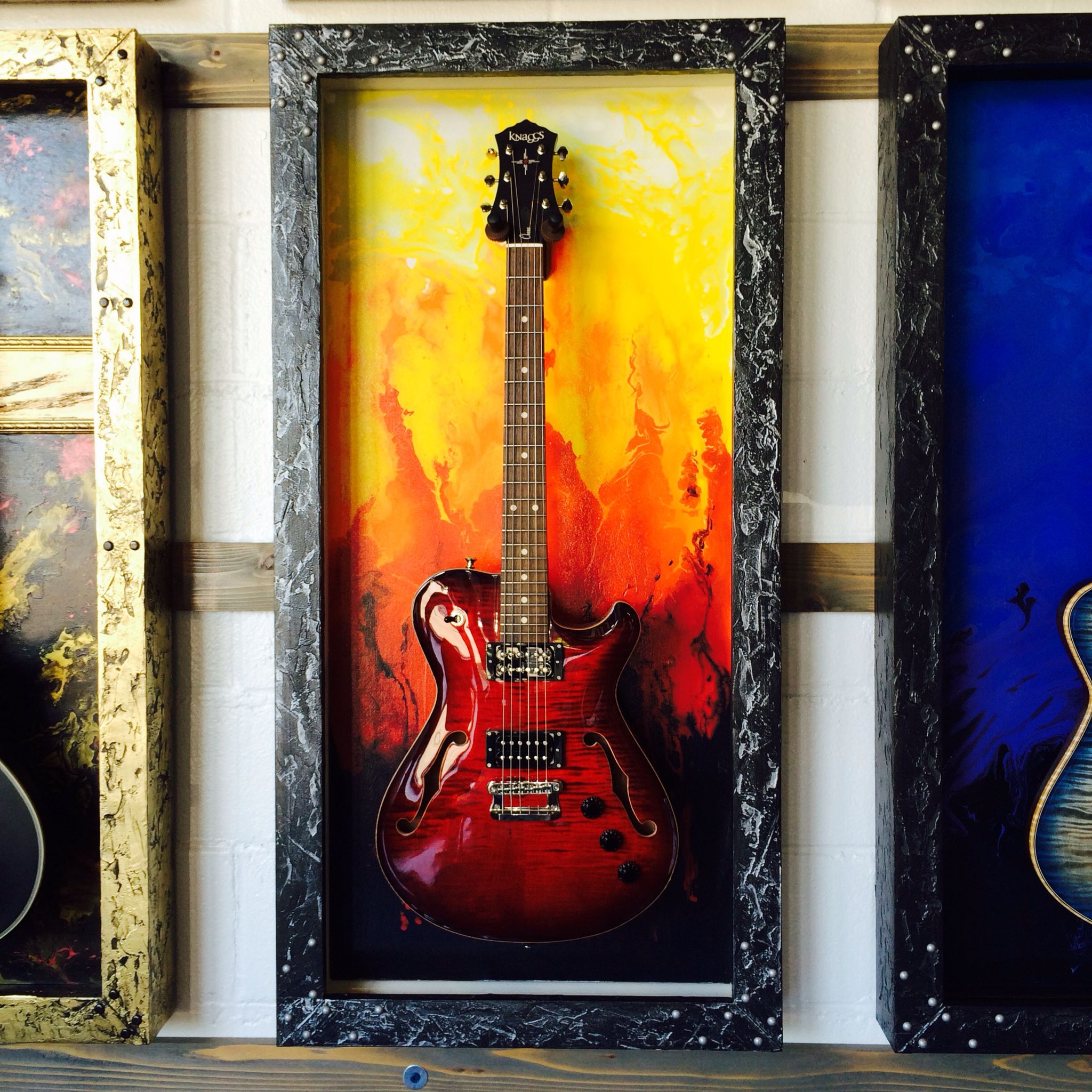 Gframes Com Custom Guitar Display Case Guitar Display
