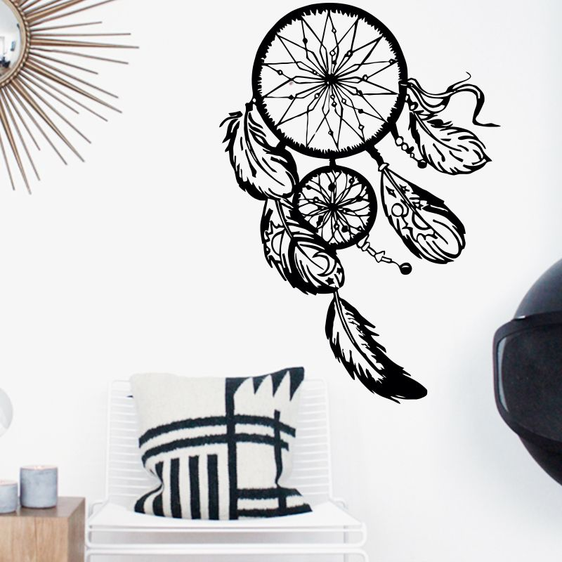 Cheap Dreamcatcher autoadesivo della parete decalcomanie home decor ...