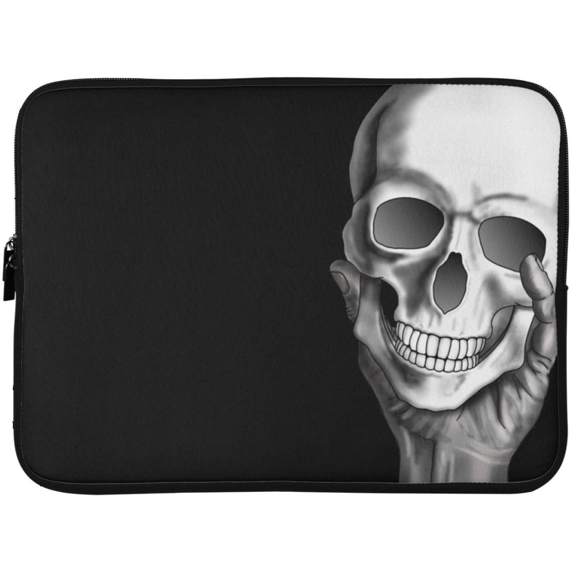 MBIT Skull in Hand Laptop Sleeve - 15 Inch Cool