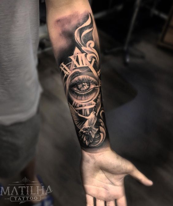 Pin By Josh Bebiif On Tattoo S In 2020 Cool Forearm Tattoos Anime Tattoos Tattoos