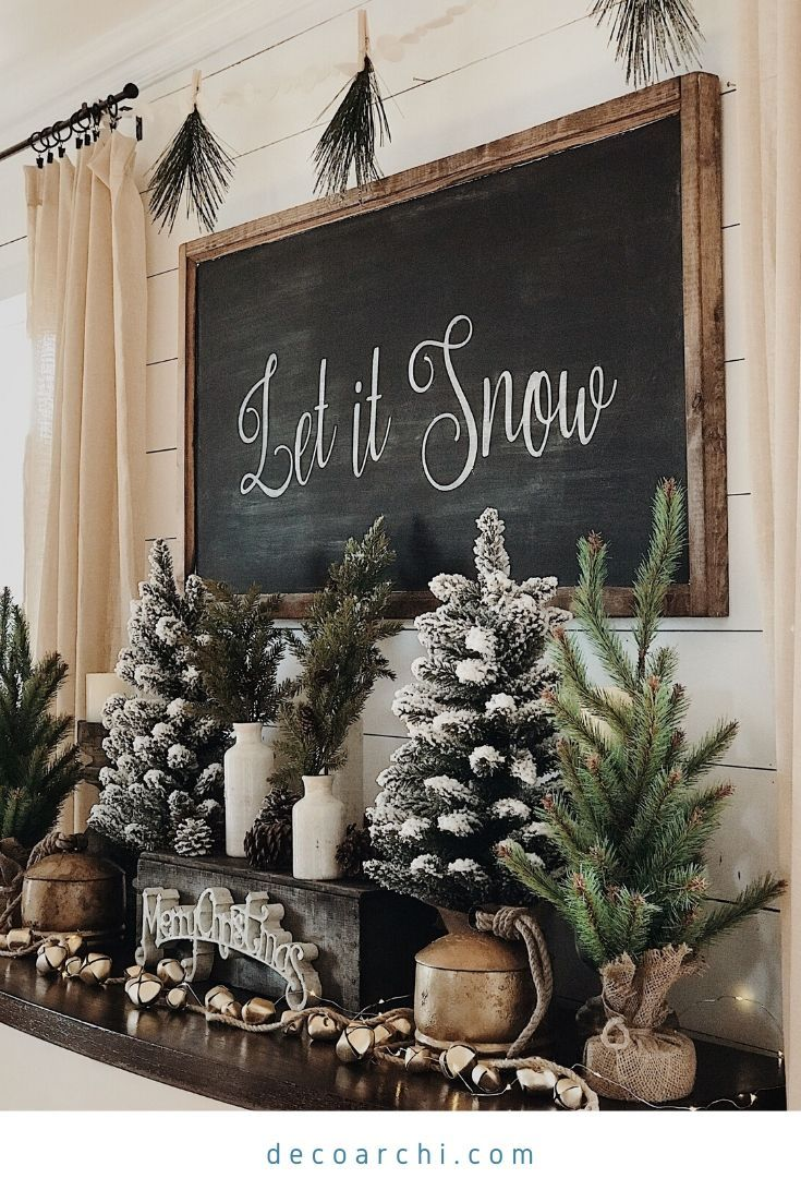 24 Popular Rustic Christmas Decors to Give You Inspiration