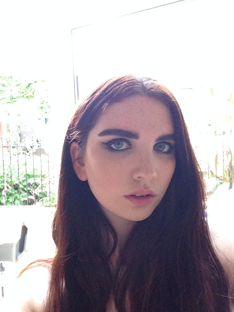 Makeup, cat eye
