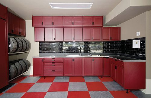 Ceramic Wall Garage Cabinet Plans Ideas Gallery Inspiration